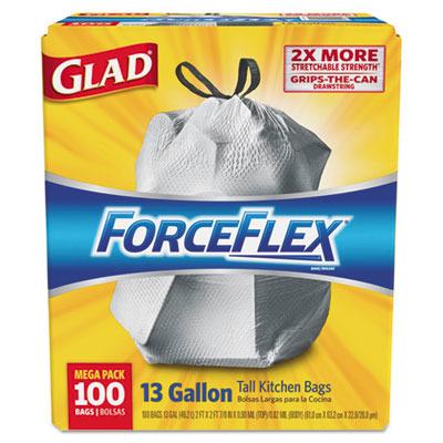 ForceFlex Tall Kitchen Drawstring Bags CLO70427