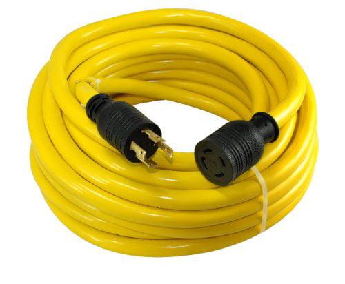 Conntek 20602 50-Foot 10/4 30 Amp 125/250 Volt 4 Prong L1...