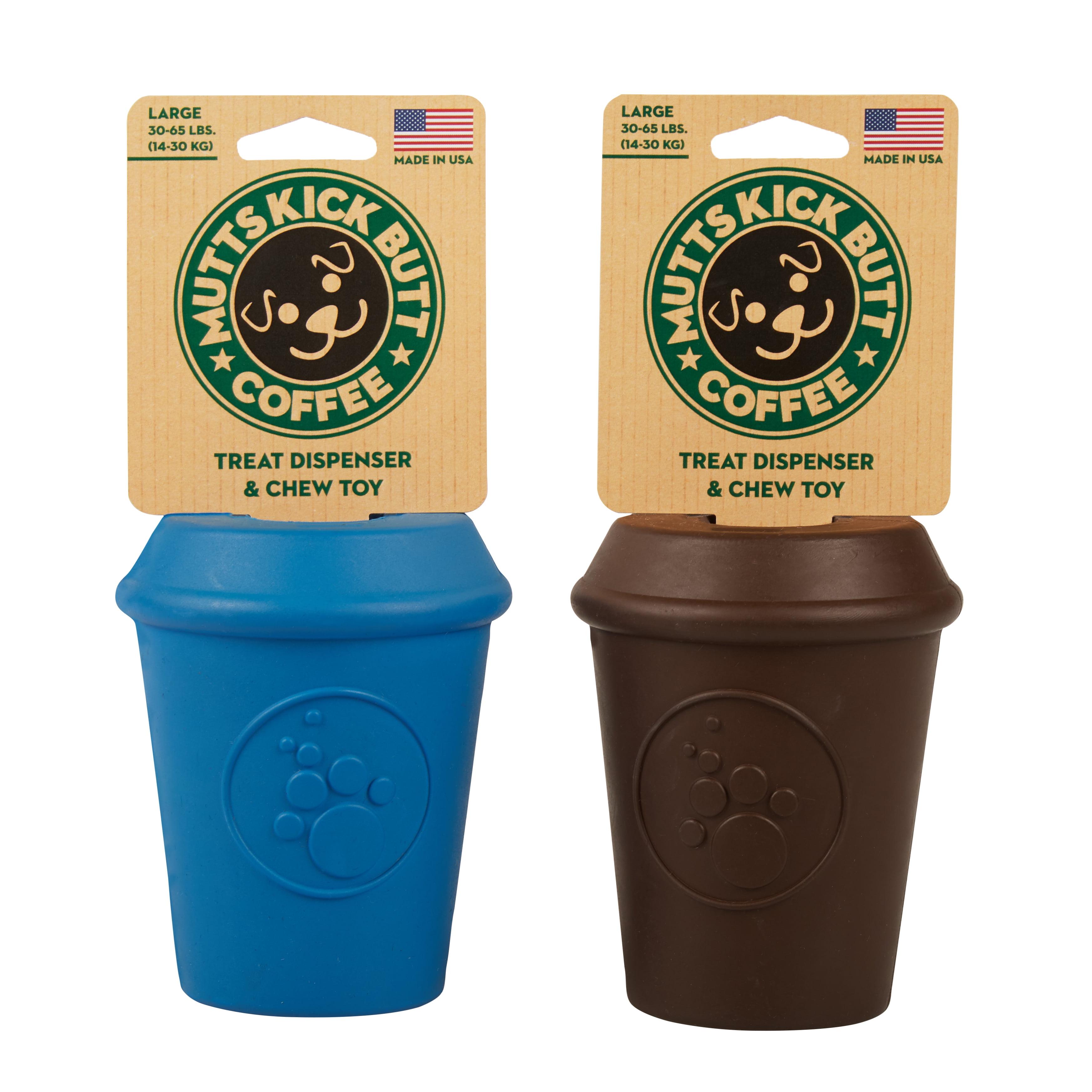 MKB Coffee Cup Treat Dispenser Dog Toy L