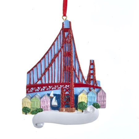 Golden Gate Bridge San Francisco Christmas Tree Ornament W8442 New ()