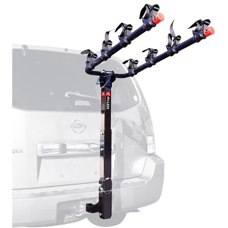 Allen Sports Deluxe 4-Bicycle Hitch Mounted Bike Rack Carrier, (Racor Bicycle Rack)