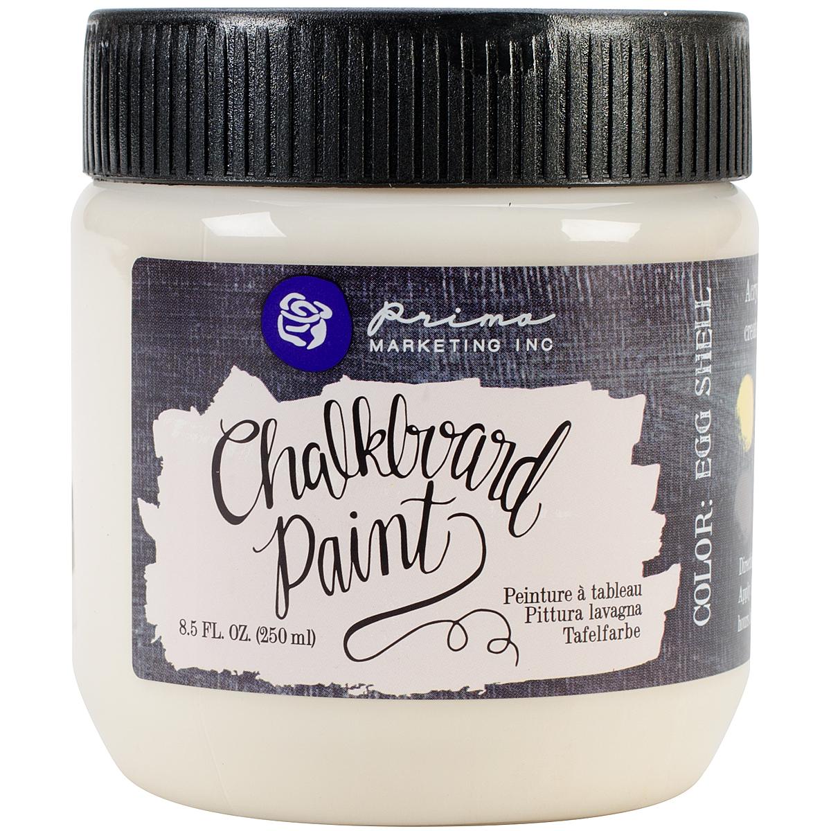 Prima Chalkboard Paint 8.5oz-Eggshell