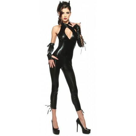 black panther cat woman costume adult costume medium
