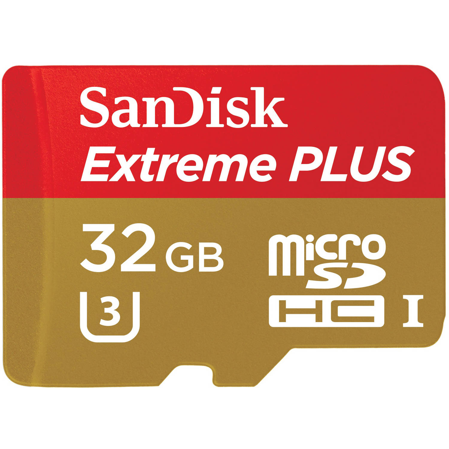 SanDisk Extreme PLUS 32GB microSD Card, Mobile, Class 10, Action Camera