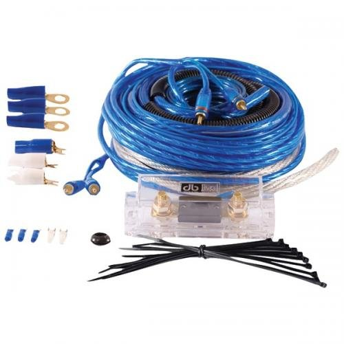 DB LINK CK4Z2RCA 4-Gauge Competition Series Amp Installation Kit