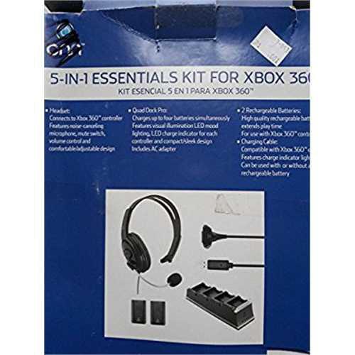Onn 5-IN-1 KIT FOR XBOX 360