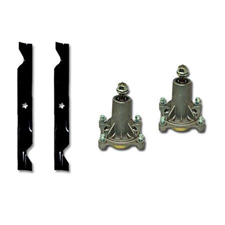 "Ariens 42"" Deck Rebuild Kit Replaces Spindles 21546238 Blades 21546095"
