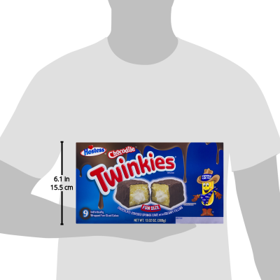 (3 Pack) Hostess Chocodile Twinkies Fun Size Snack Cakes, 9 ct, 13  02 oz