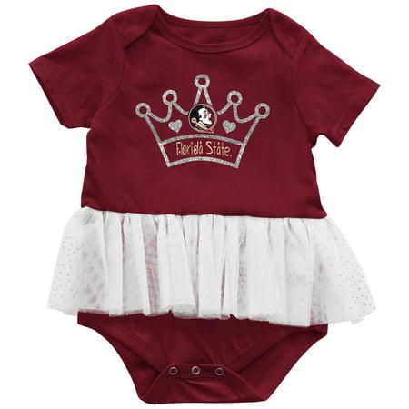 FSU Florida State University Infant Princess Tutu Bodysuit - Garnet Hill For Kids