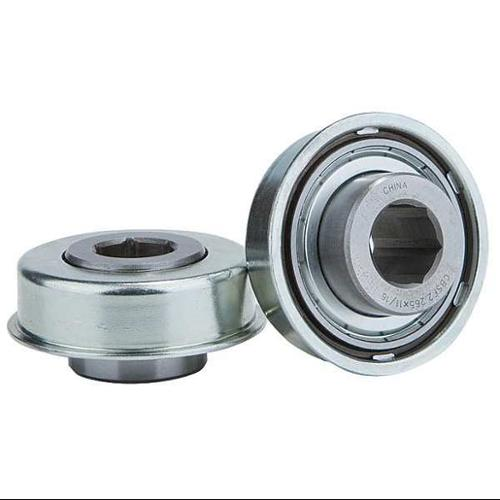 UNITED SALES CBSF2.265X11/16 Hex Conveyor Bearing, 11/16 In., 2.266 In.