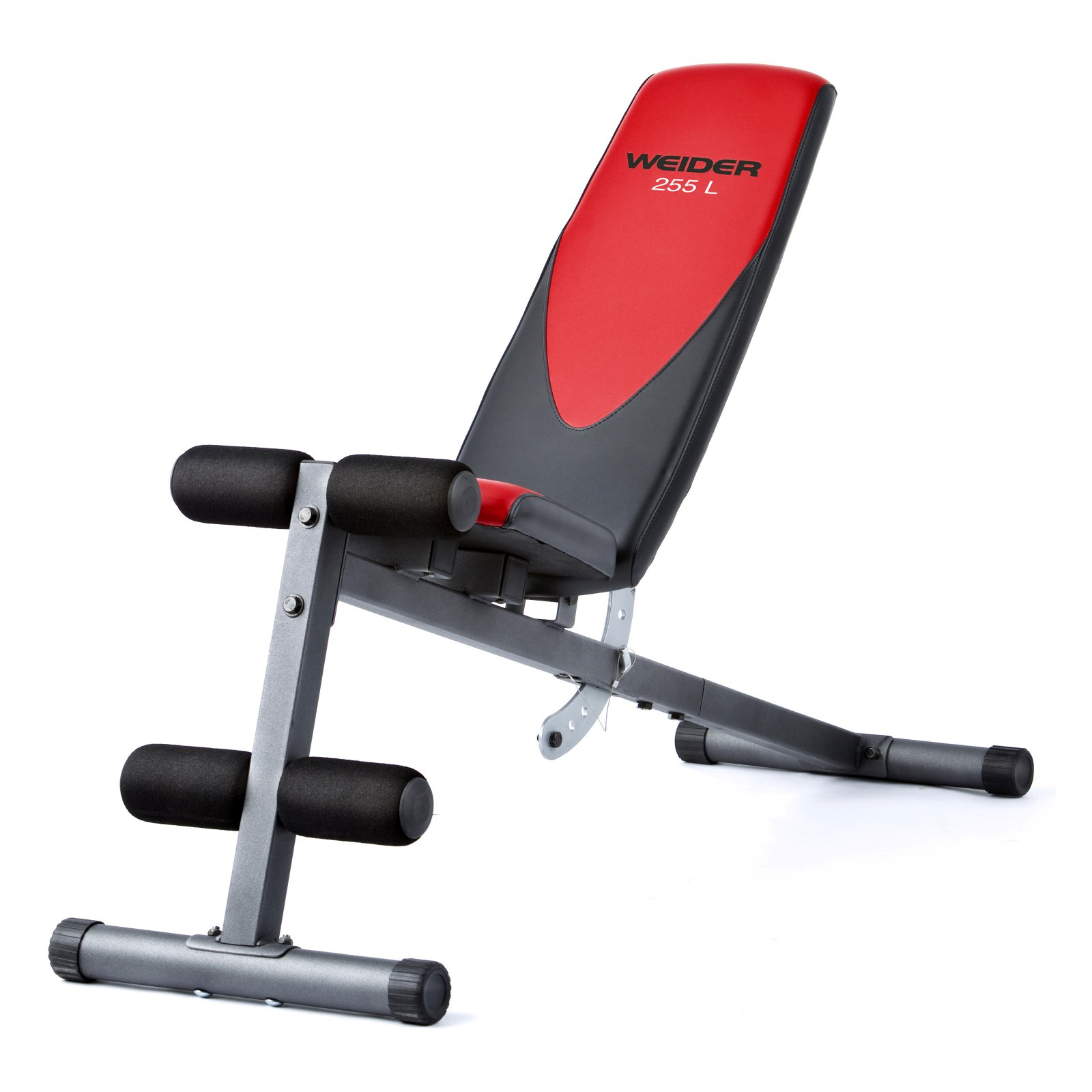 Weider Pro 225 L Bench with Exercise Chart