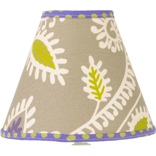 Cotton Tale 9'' Periwinkle Cotton Empire Lamp Shade