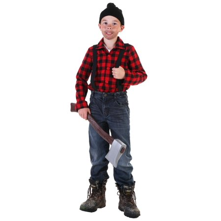 Child Lumberjack Costume](Lumberjack Woman Costume)
