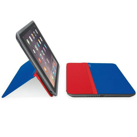 Logitech AnyAngle Protective Case & Stand for iPad Air 2 - Blue/Red (Ipad Air 2 Logitech Type+)