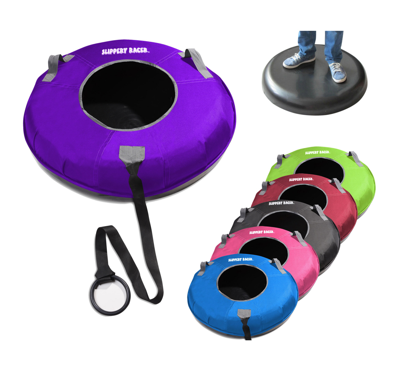 Slippery Racer Grande XL Hard Bottom Inflatable Snow Tube