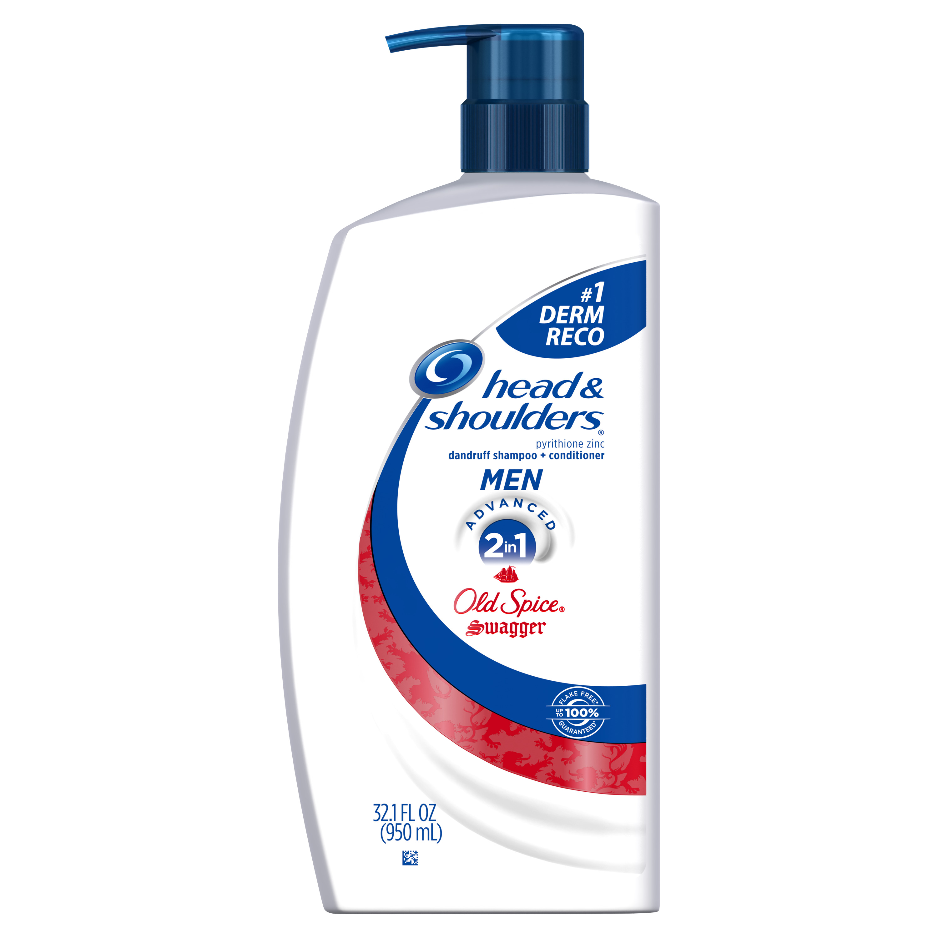 Head and Shoulders Old Spice Swagger 2-in-1 Anti-Dandruff Shampoo + Conditioner for Men 32.1 fl oz