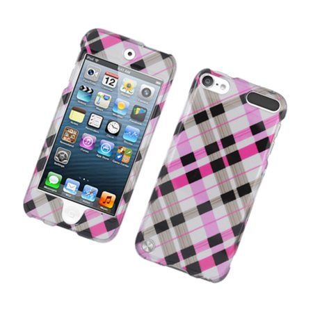 Insten Checker Hard Cover Case For Apple iPod Touch 5th Gen -