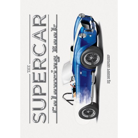 The Supercar Colouring Book (Top 10 Best Supercars)
