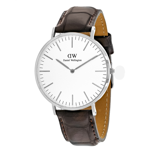 Daniel Wellington Men's York Watch Quartz Mineral Crystal 0211DW