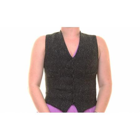 Denim & Supply Ralph Lauren Women's Button-Front Vest Size