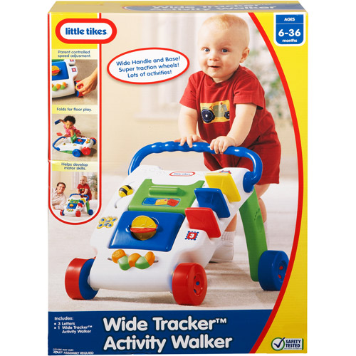Little Tikes Wide Tracker Activity Walker