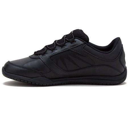 Tredsafe Women's Merlot Slip Resistant Athletic Shoe