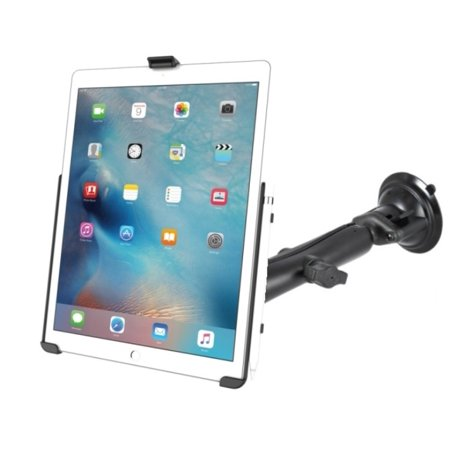 RAM Composite Long Arm Suction Cup Windshield Mount Kit for Apple iPad Pro 12.9