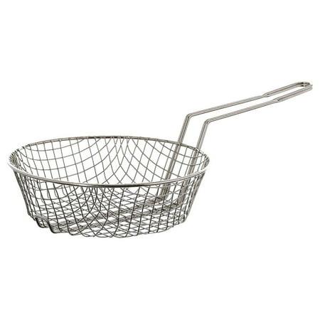 Coarse Mesh Culinary Basket (Update International (CUB-10C) 10 Nickel-Plated Coarse Mesh Culinary Basket )
