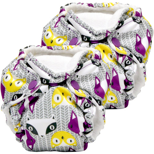 Kanga Care Lil Joey All in One Newborn Cloth Diaper, Bonnie, 2 count