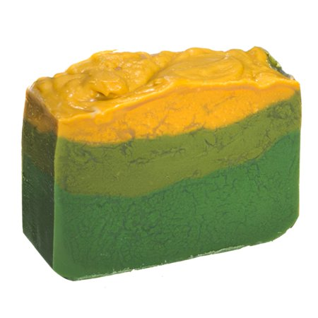 Avocado Soap Bar with Jasmine Oil (4 Oz) - Handmade Organic with Essential Oils. Natural Moisturizing Body Soap for Skin and Face. With Shea Butter, Coconut Oil, Natural Glycerin