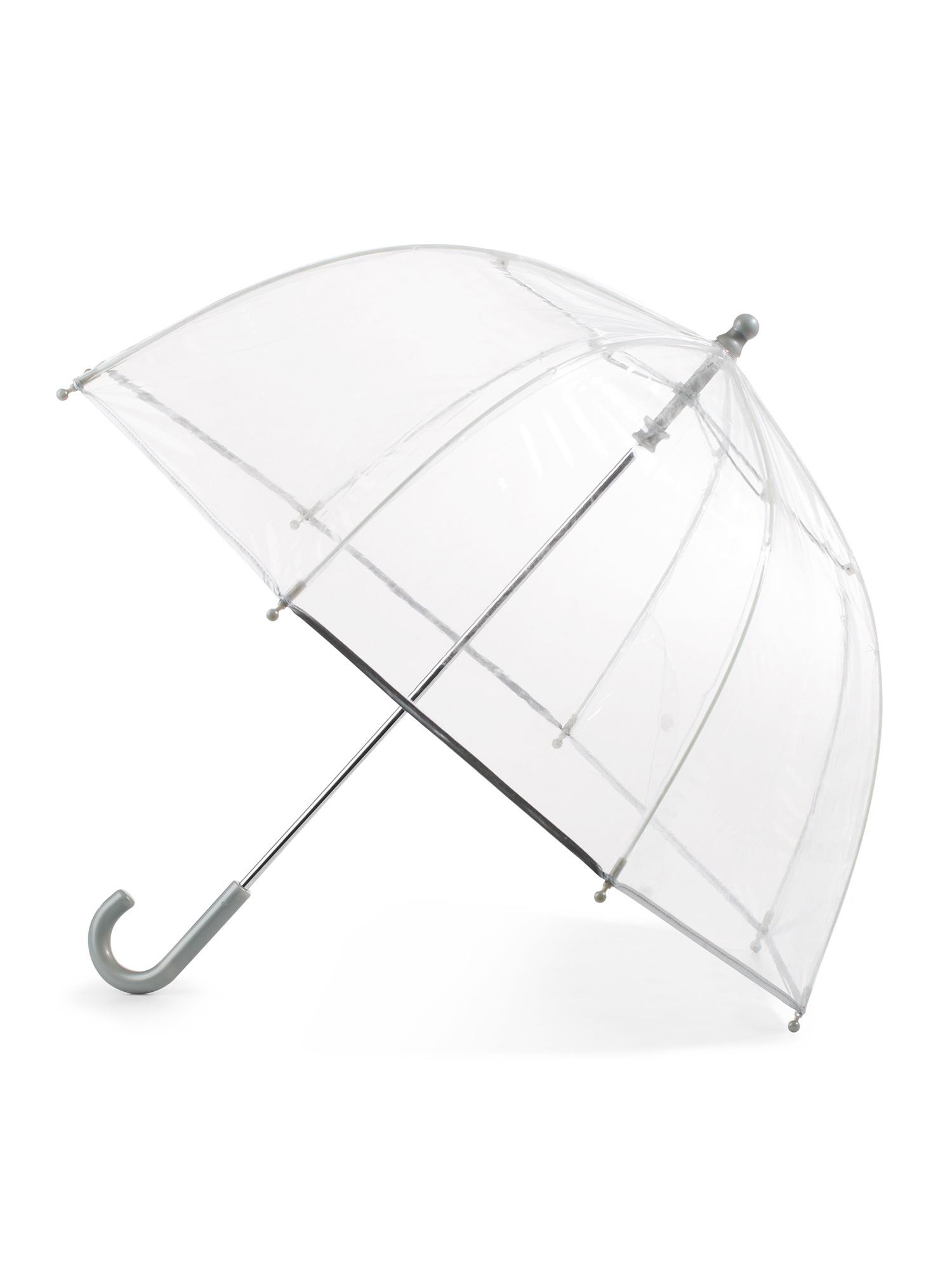 Kid's Bubble Umbrella with Easy Grip Handle