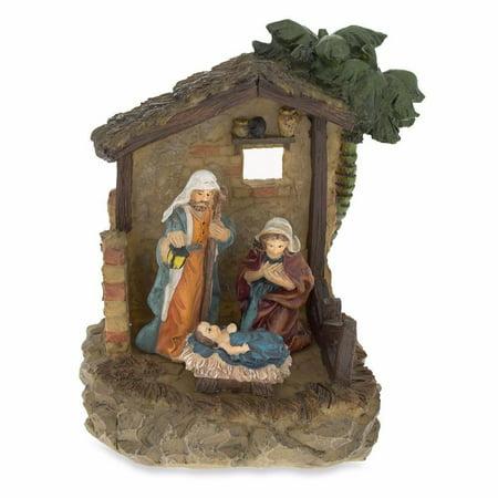 Nativity Scene in the Manger Figurine 6.15 Inches