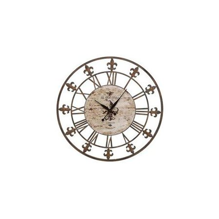 Aspire Home Accents 13813 Wrought Iron Wall Clock