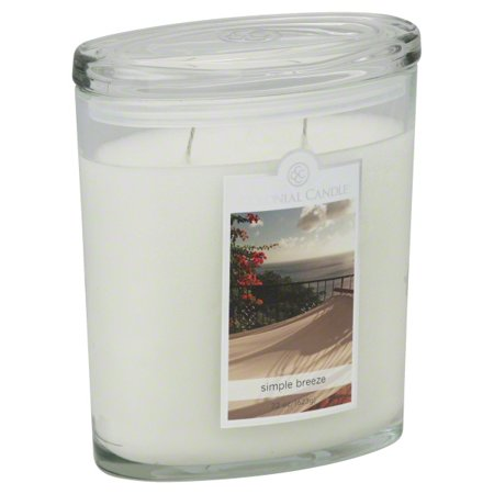 Colonial Candle Two-Wick 22 Oz. Oval Jar - Simple Breeze