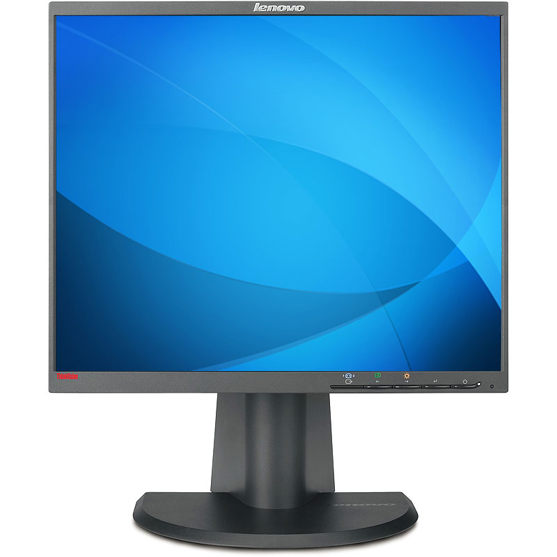 "Refurbished Lenovo L1900P 1280 x 1024 Resolution 19"" LCD Flat Panel Computer Monitor Display"