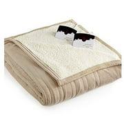 Biddeford Blankets Microplush Sherpa Electric Heated Blanket