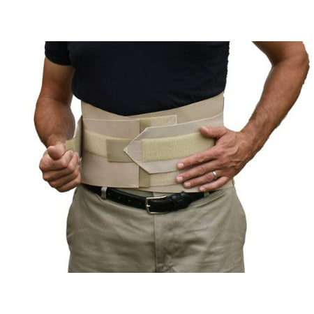Double Pull Lumbar Sacral Back Support Brace  (Small)