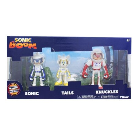 online store 4aece 021be Sonic Boom 3-Inch Figure 3-Pack - Spacesuit Sonic, Tails, ...