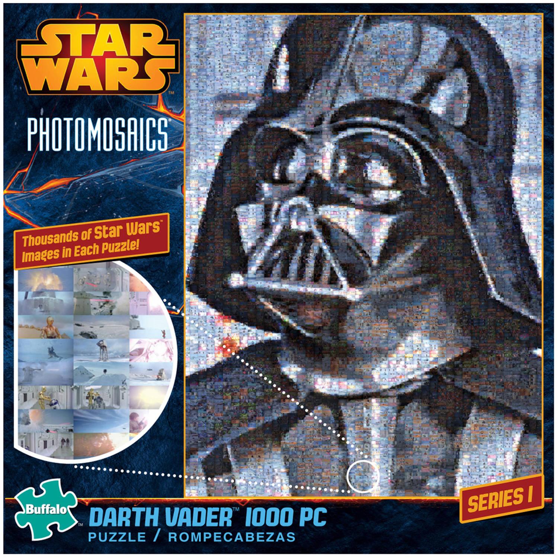 Star Wars Photomosaics, Darth Vader, 1000 Pieces
