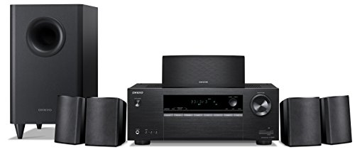 Onkyo 5.1 6-Channel Surround Sound Speaker System, black (HT-S3900) by Onkyo
