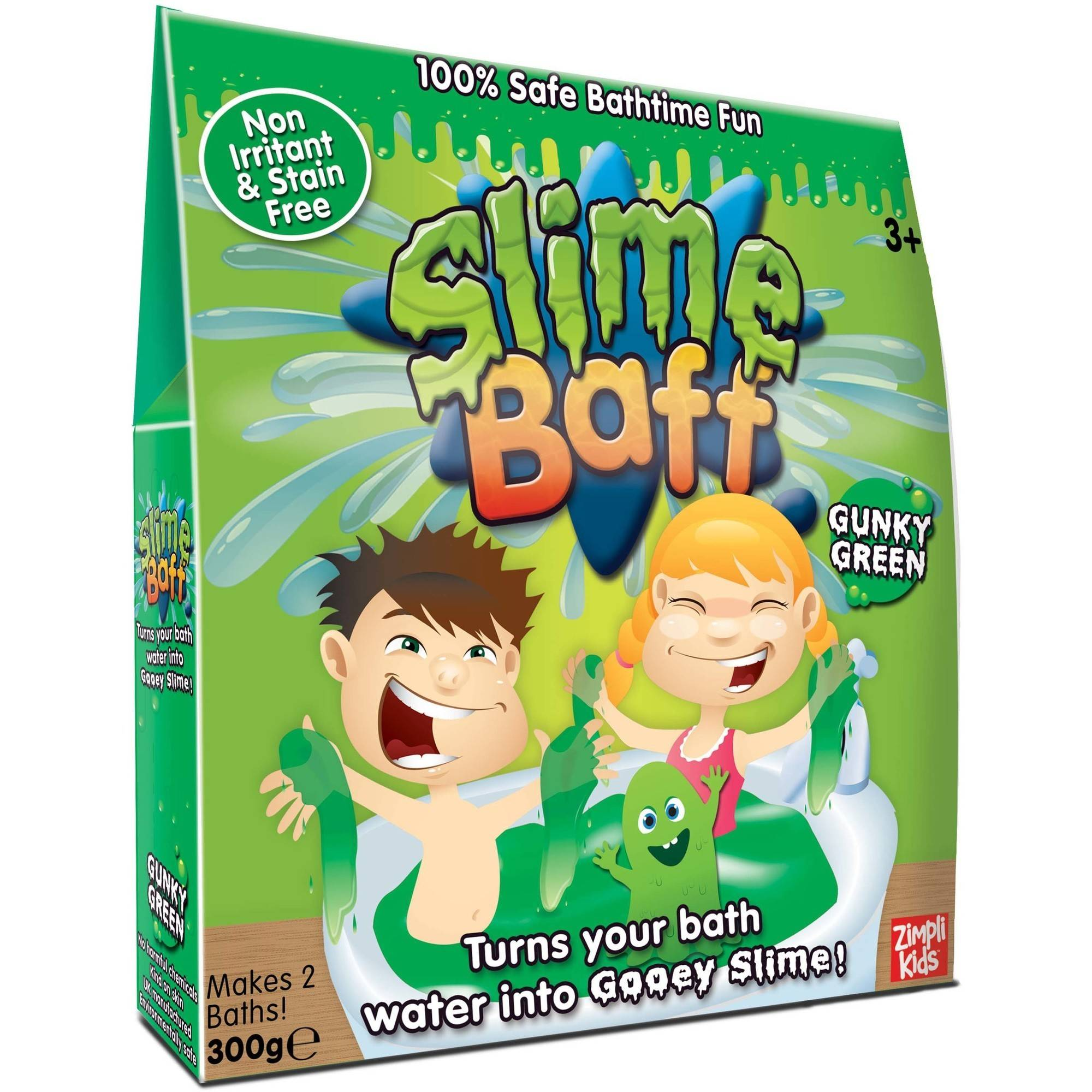 Zimpli Kids Green Bath Slime Baff 2-Uses