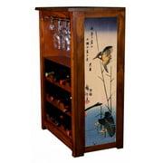 """Kingfisher"" by Hiroshige Wine Cabinet"