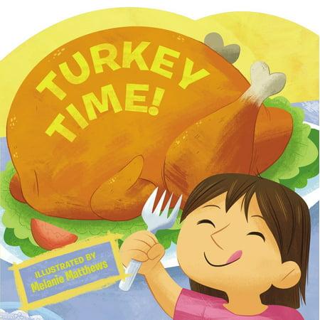 Turkey Time (Board Book)