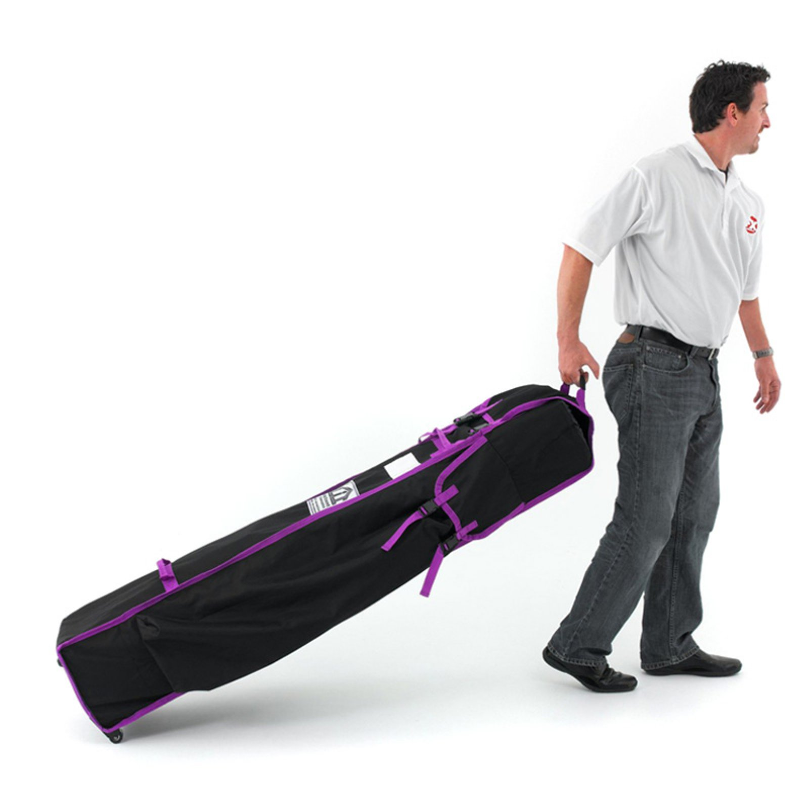 Impact Canopy Roller Bag for Pop Up Tent, Wheeled Storage Bag with Handles for 10 x 10 Canopy