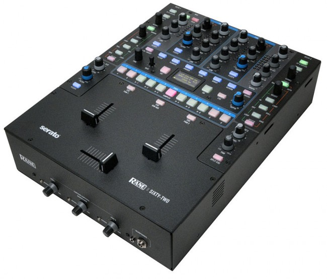 Rane SIXTY TWO DJ Mixer Controller with Integrated Serato Scratch LIVE Software