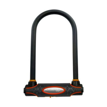 Master Lock U-Lock 8201DLWPS Hardened Steel U-Lock with 6-5/8 in. (17cm) Wide with 11-1/4 in. (29cm) Shackle