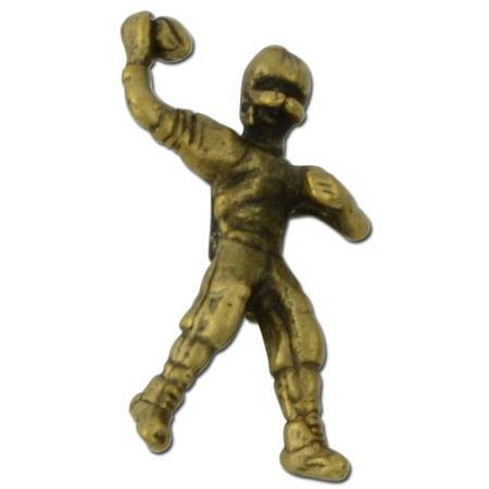 Football Player 2 Lapel Pin -