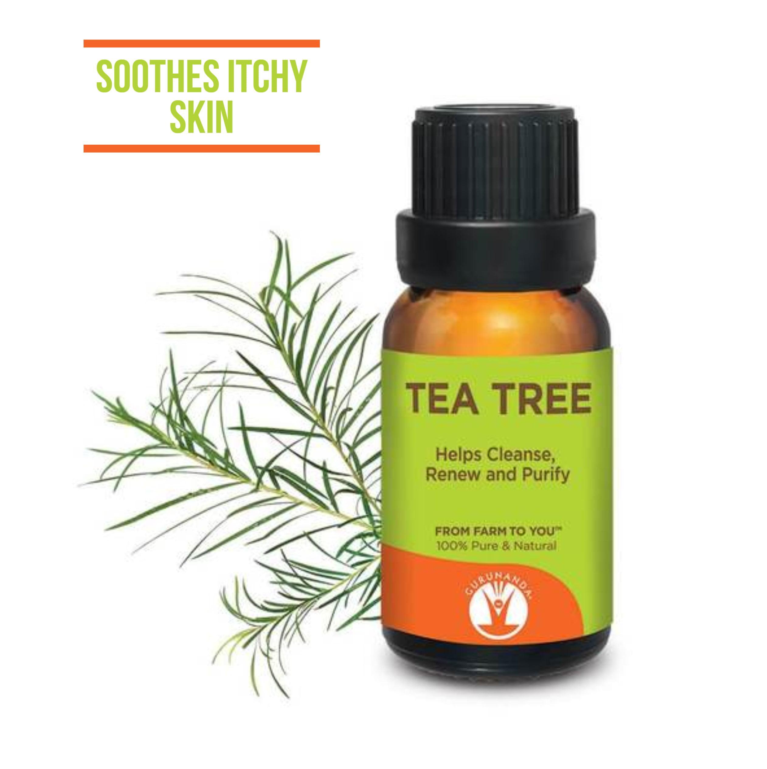 Gurunanda Tea Tree Essential Oil, 0.5 Oz
