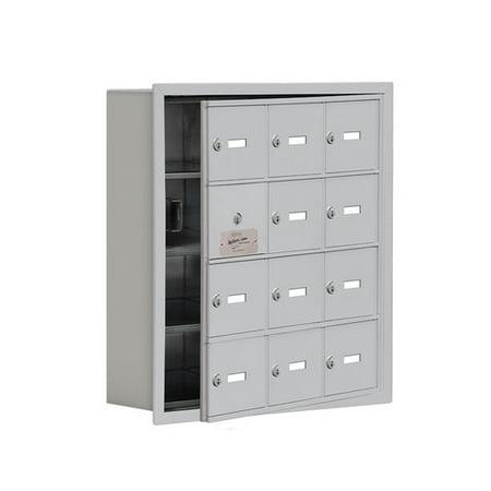 - Salsbury Industries 4 Tier 3 Wide Employee locker