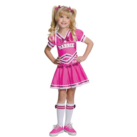 Barbie Cheerleader Child Halloween Costume](Dallas Cowboys Cheerleader Costume For Kids)